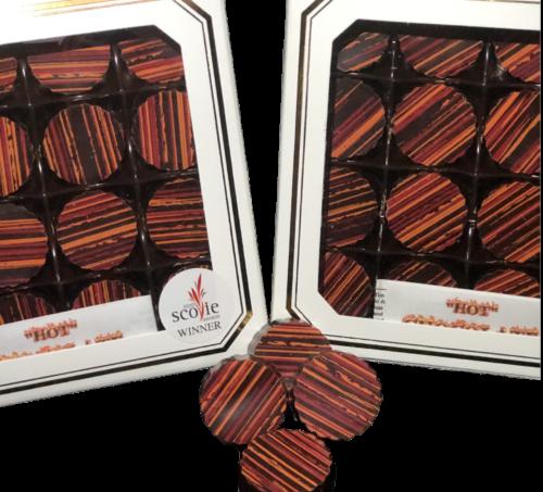 Dark Chocolate Mango Habanero Truffle